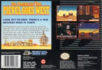 An American Tail: Fievel Goes West Box Art