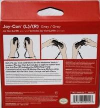 Joy-Con (L)/(R) - Gray / Gray [NA] Box Art