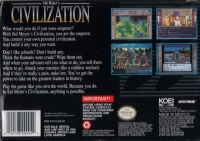 Sid Meier's Civilization Box Art