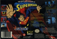 Death and Return of Superman, The Box Art