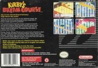 Kirby's Dream Course Box Art