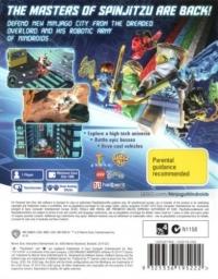 LEGO Ninjago: Nindroids Box Art