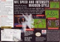 Madden NFL 98 Box Art