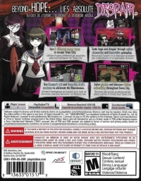 Danganronpa Another Episode: Ultra Despair Girls Box Art