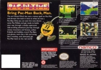 Pac-in-Time Box Art