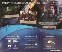 Sony PlayStation 4 CUH-2015A - Uncharted 4: A Thief's End Box Art