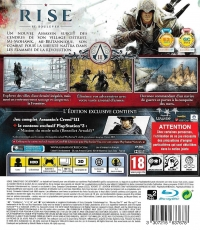 Assassin's Creed III (Édition Exclusive PS3) Box Art