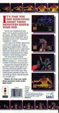 Advanced Dungeons & Dragons: Slayer Box Art