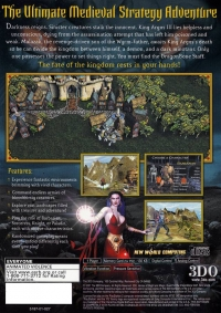 Heroes of Might and Magic: Quest for the Dragon Bone Staff Box Art