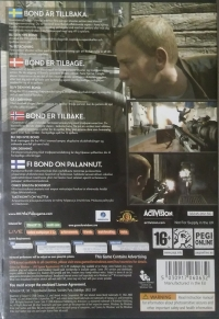 007: Quantum of Solace [SE][DK][NO][FI] Box Art