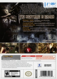 Resident Evil 4 - Wii Edition Box Art