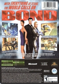 007: Everything or Nothing - Platinum Hits Box Art
