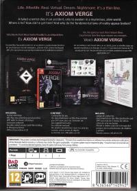 Axiom Verge - Multiverse Edition Box Art