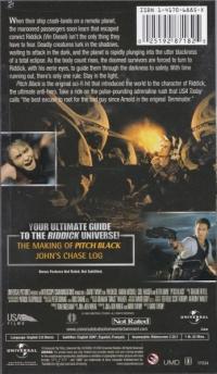 Chronicles of Riddick, The: Pitch Black Box Art