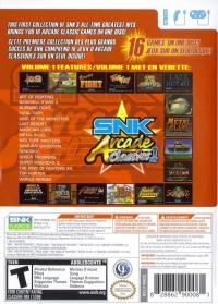 SNK Arcade Classics Vol.1 Box Art
