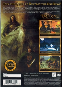 Lord of the Rings, The: The Fellowship of the Ring Box Art