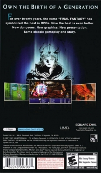 Final Fantasy Box Art