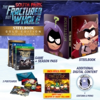 South Park: The Fractured But Whole - SteelBook Gold Edition Box Art