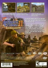 Conflict: Desert Storm II: Back to Baghdad Box Art