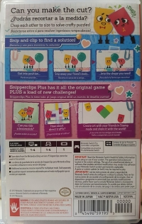Snipperclips Plus - Cut It Out, Together! Box Art