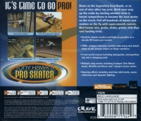 Tony Hawk's Pro Skater - Sega All Stars Box Art