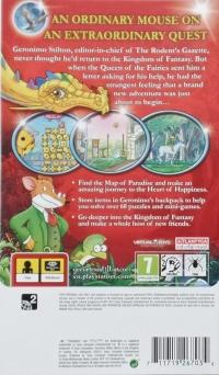 Geronimo Stilton: Return to the Kingdom of Fantasy Box Art
