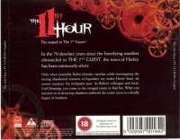 11th Hour, The (jewel case) Box Art