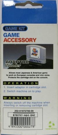 Adaptor Wonder Box Art