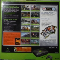 Microsoft Xbox - NCAA Football 2005 / Top Spin Box Art