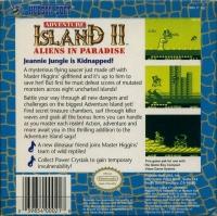 Adventure Island II: Aliens in Paradise (Hudson Soft) Box Art