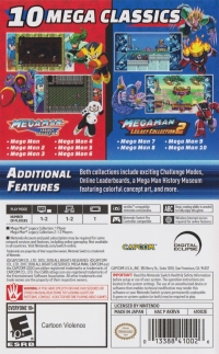 Mega Man Legacy Collection + Mega Man Legacy Collection 2 Box Art
