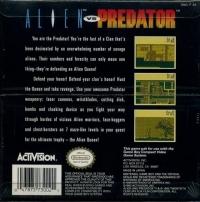 Alien vs Predator: The Last of His Clan Box Art