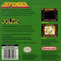 Arcade Classic #4: Defender & Joust Box Art