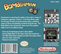 Bomberman GB Box Art