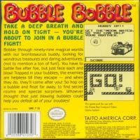 Bubble Bobble (Taito) Box Art