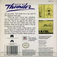 Days of Thunder Box Art