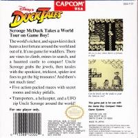 Disney's DuckTales (Capcom) Box Art