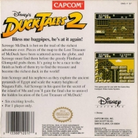 Disney's DuckTales 2 Box Art