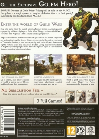 Guild Wars Trilogy Box Art