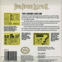 Final Fantasy Legend II (Square) Box Art