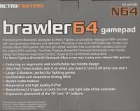 Retro Fighters Brawler 64 Box Art