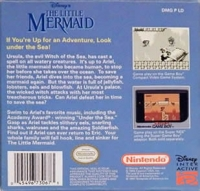Disney's The Little Mermaid - Players Choice Box Art