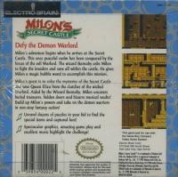 Milon's Secret Castle Box Art