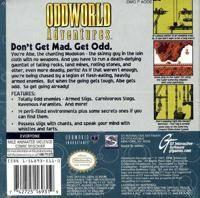 Oddworld Adventures Box Art