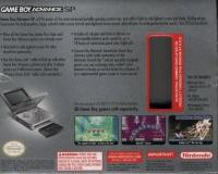 Nintendo Game Boy Advance SP - Platinum [NA] Box Art