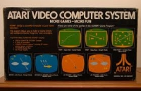 Atari Video Computer System CX2600A [NA] Box Art