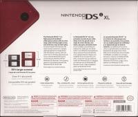 Nintendo DSi XL - Burgundy [NA] Box Art