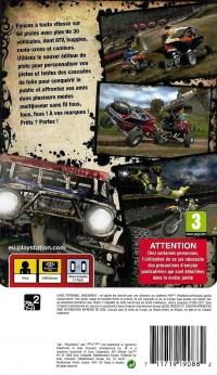ATV Offroad Fury Pro - PSP Essentials [FR] Box Art