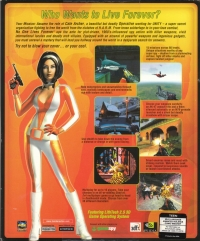 No One Lives Forever Box Art