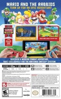 Mario + Rabbids: Kingdom Battle Box Art